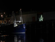 fish mart projection from the water