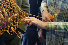 net-mending workshop